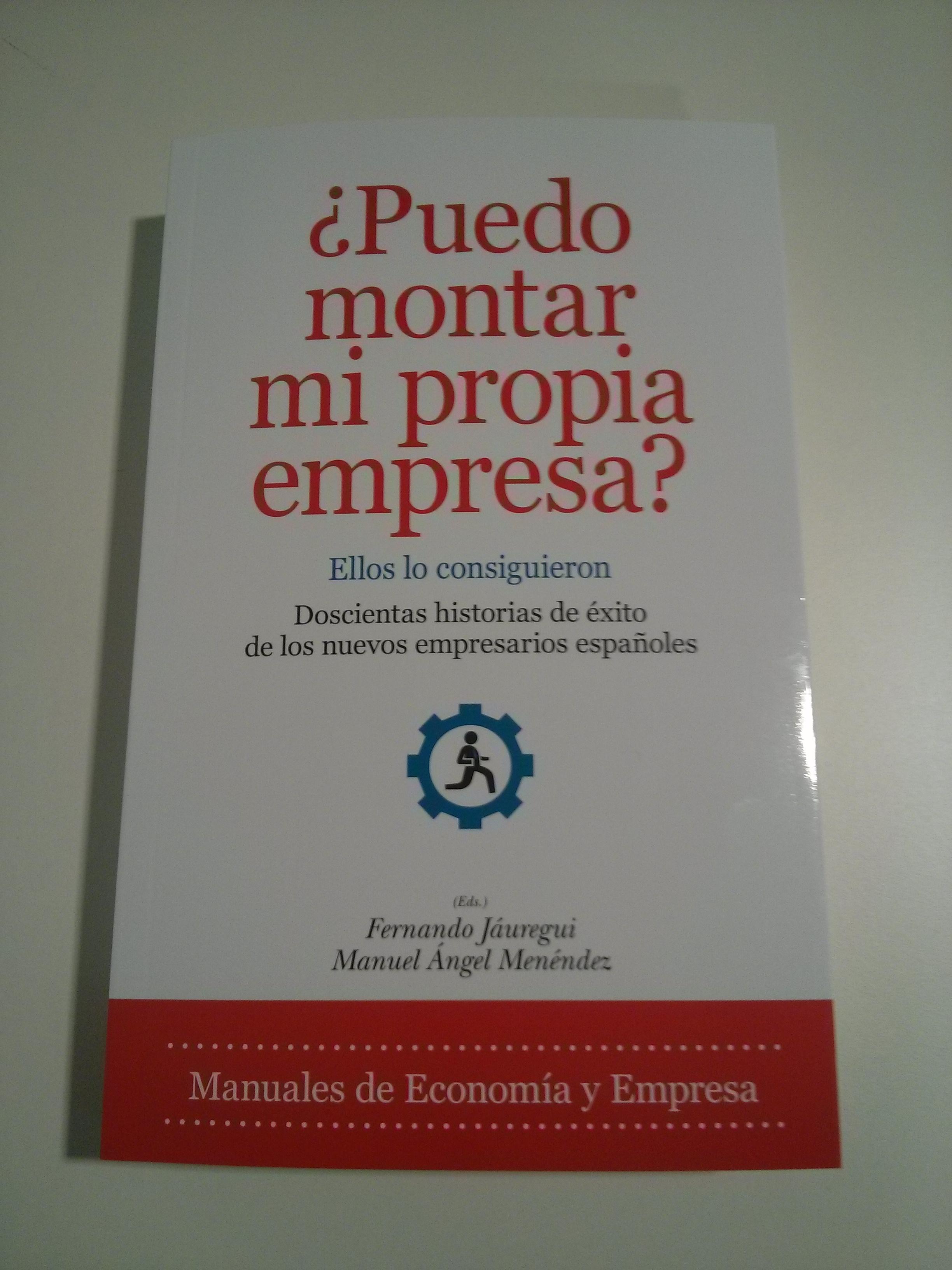 Los socios de NOVAÍN Consultores en el libro «¿Puedo montar mi propia empresa? Ellos lo consiguieron».
